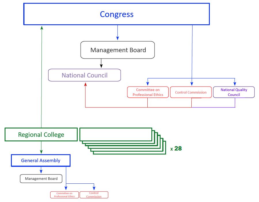BADT Organizational Structure